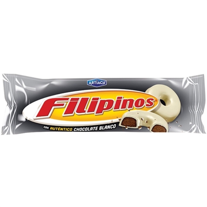 Filipinos White Chocolate Biscuits (Biscoitos Filipinos) 135g